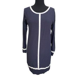 Ann Taylor Knit Dress Sweater Long Sleeves Medium